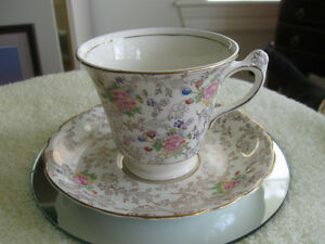 "OLD VINTAGE ""JAMES KENT"" ENGLISH-MADE EMBASSY CUP & SAUCER"