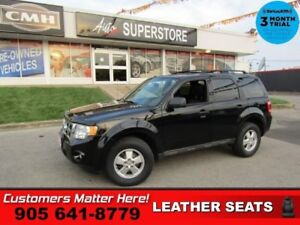 2012 Ford Escape XLT  1-OWNER LEATHER PWR-SEAT ALLOYS