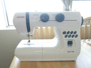 New Janine sewing machine