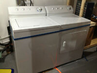 Fridgidaire Gallery washer and dryer