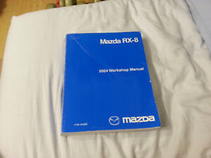 Mazda 2004 RX-8 Workshop Service Manual