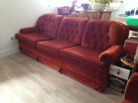 Couch, chairs, loveseat