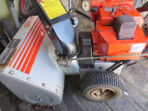 Craftsman 8 HP 25 Inch Snowblower For Parts Or Repair