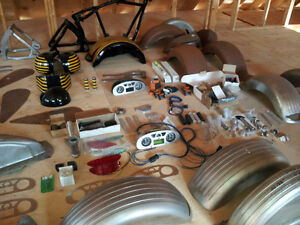2 Stainless steel Softail parts
