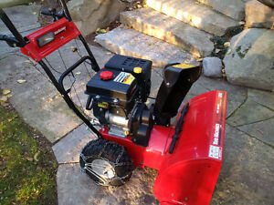Yard Machine Snowblower Practically Brand New Model 31AH64FF500 Peterborough Peterborough Area image 3