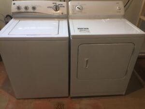 Reliable washer and dryer kenmore