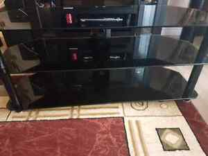TV STAND BARELY USED MINT CONDITION!