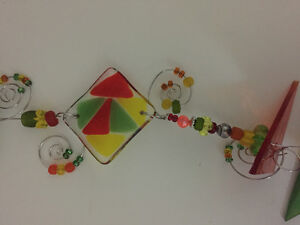 Stained glass suncatcher and ornament London Ontario image 2