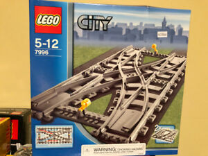 Double Crossover Track NEW 7996 LEGO -$80