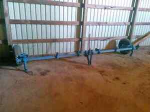 """15' HD Tractor Tool Bar (2"""" Solid Steel Square Stock)"""