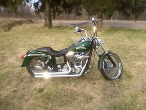 Screaming Eagle Dyna Wide Glide, Very Fast