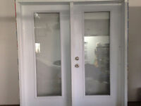 Patio Doors - ONLY 2 YEARS OLD... $650 OBO