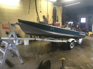 14' legend fishing boat