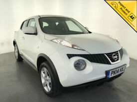 2014 NISSAN JUKE VISIA 5 DOOR HATCHBACK 1 OWNER SERVICE HISTORY FINANCE PX