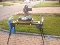 Table saw and stand