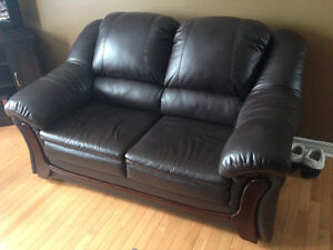 FS  Chesterfield, Loveseat & Chair