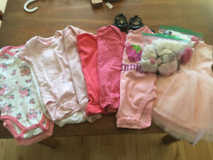 Baby Girl lot - hardly worn 3-6 months