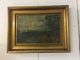 Very old oil painting