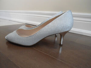 BRAND NEW SILVER SHOES (STEVENSVILLE)