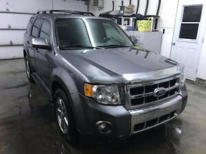2009 Ford Escape 4wd limited