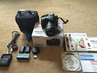Excellent Condition Canon 70D 18-135mm + Extras