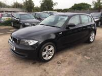BMW 118 2009 2.0TD DIESEL - MANUAL - 1 PRVS OWNER -FULL LEATHER TRIM