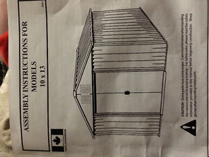 New Metal Shed (10X13)