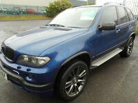 BMW X5 LEMANS SPORT EDITION 4X4 DIESEL AUTO SAT NAV PAN ROOF ALPINE WHEELS
