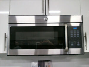 Brand new GE Cafe Over the Range Microwave