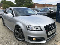 ✿61-Reg Audi S3 2.0T FSI Quattro Black Edition ✿FULLY LOADED SPEC ✿NICE EXAMPLE✿