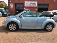 2004(54) Volkswagen Beetle 2.0 Cabriolet, Blue, **ANY PX WELCOME**