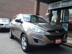 2011 Hyundai Tucson NO ACCIDENT,MANUAL,AIR,LOW KILOMETER,$6488