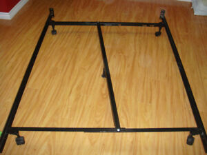 bed frame - metal double
