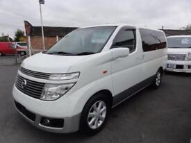 2004 Nissan Elgrand 3500 TOP SPEC XL FRESH IMPORT LEATHER 5dr