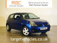 2007 RENAULT CLIO 1.2 16v 75 ( a/c ) CAMPUS ~FULL SERVICE HISTORY~
