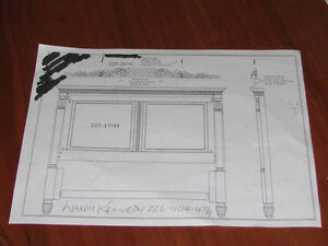 Looking For This Type Of Headboard Queen Size Kitchener / Waterloo Kitchener Area image 1