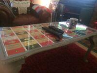 Penguin Postcard Coffee Table