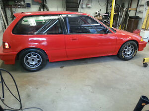 1991 Honda Civic cx Bicorps