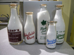 Attention!! Best Price Paid, For Old Local, Milk Bottles!!!
