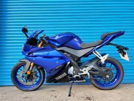 Yamaha Yzf-r125 2018 FSH immaculate bike