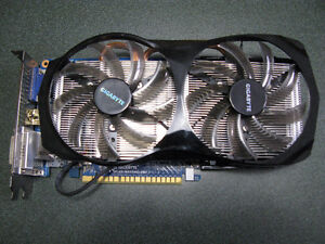 Gigabyte Windforce Nvdia GTX650 Ti Video Card
