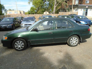 1999 Toyota Corolla Sedan Cambridge Kitchener Area image 9