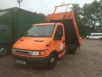 Iveco Daily 35S12 Swb Tipper Tail Lift 2.3 Diesel