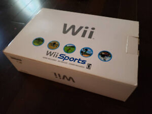 Nintendo Wii with box and extras
