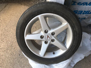 Acura RSX OEM Rims and Tires 205/55/16