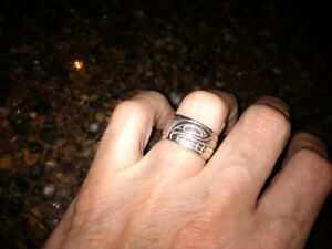Native silver ring