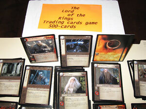 THE LORD OF THE RINGS TRADING CARDS GAME Original