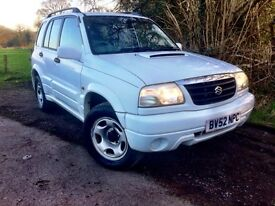 02 Suzuki Grand Vitara 2.0 turbo diesel / 4x4 / Genuine 58k / 2 Owners / cambelt done