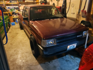 1993 Mazda b2200 with engine swap