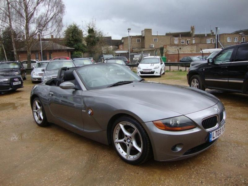 2003 BMW Z4 2.5 i Roadster 2dr   in Thrapston, Northamptonshire ...
